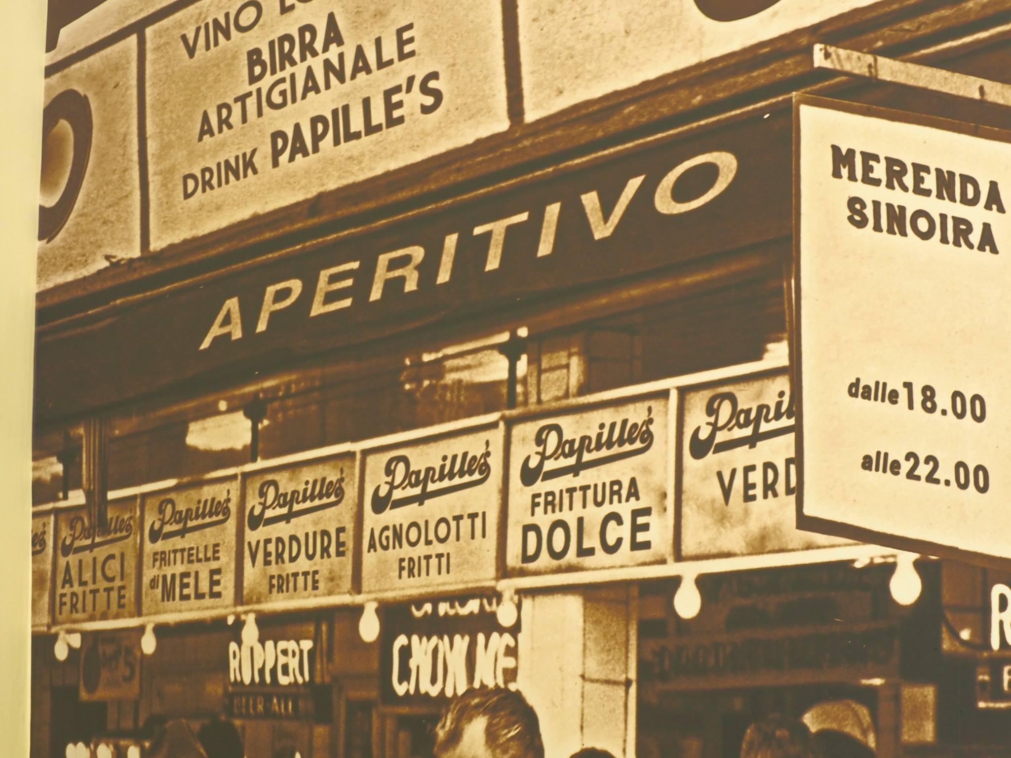 esterno papille's aperitivo torino