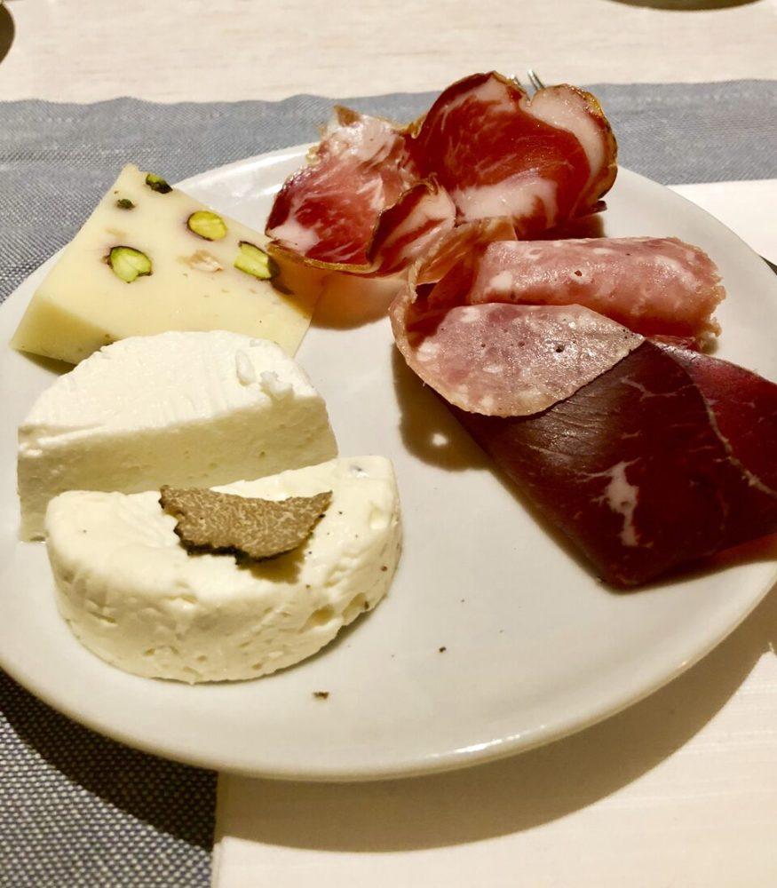 selezioni salumi e formaggi