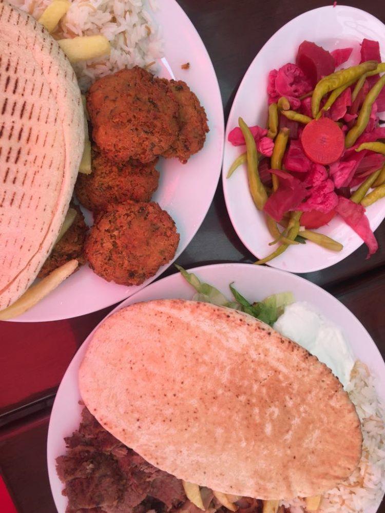 falafel e kebab