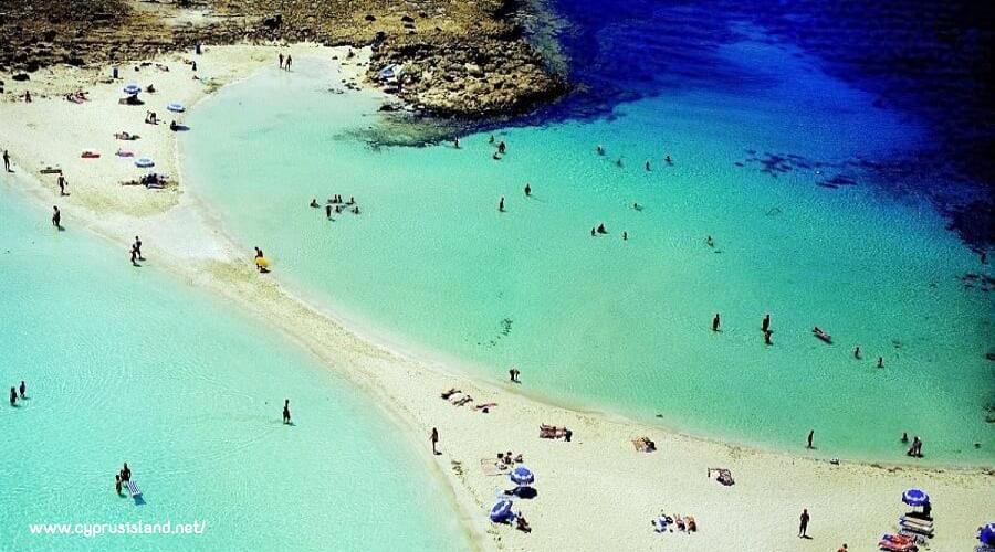 nissi beach, amre zzurro e cristallino
