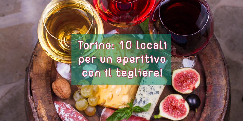 Torino 10 apertivi con il tagliere