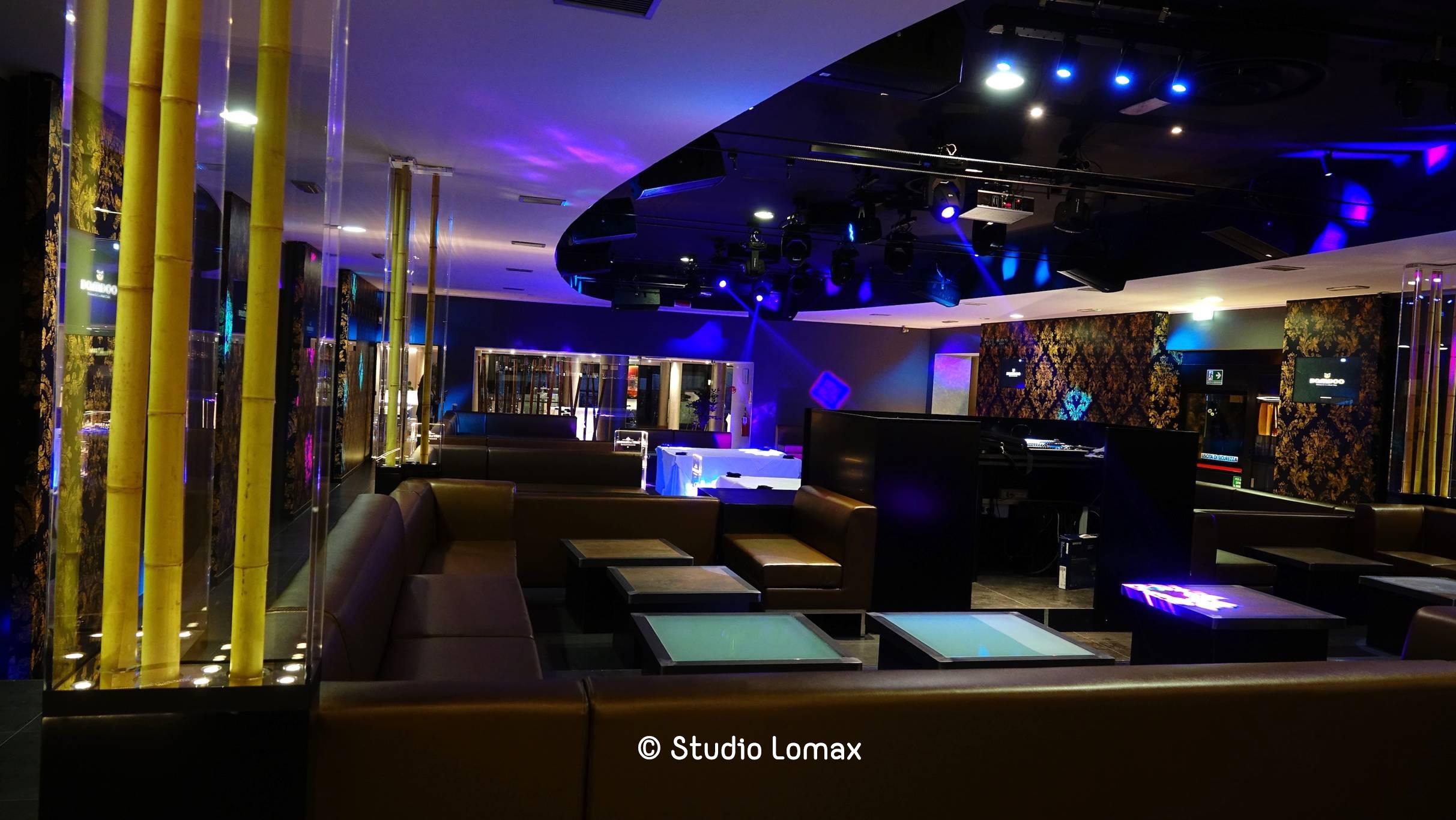 interno della discoteca bamboo torino