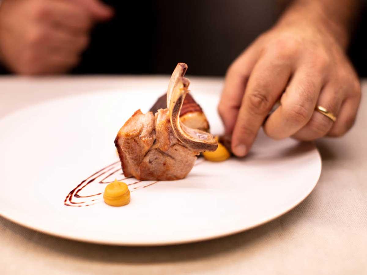 piatto gourmet di tonno