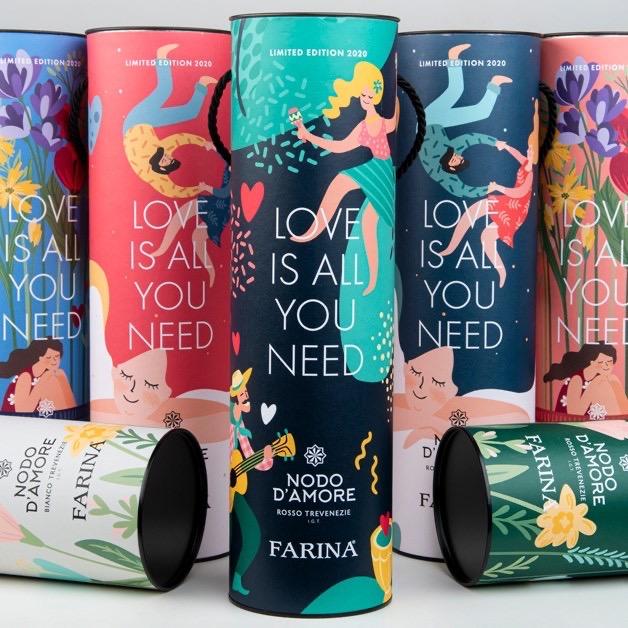 bottiglia di vino love is all you need