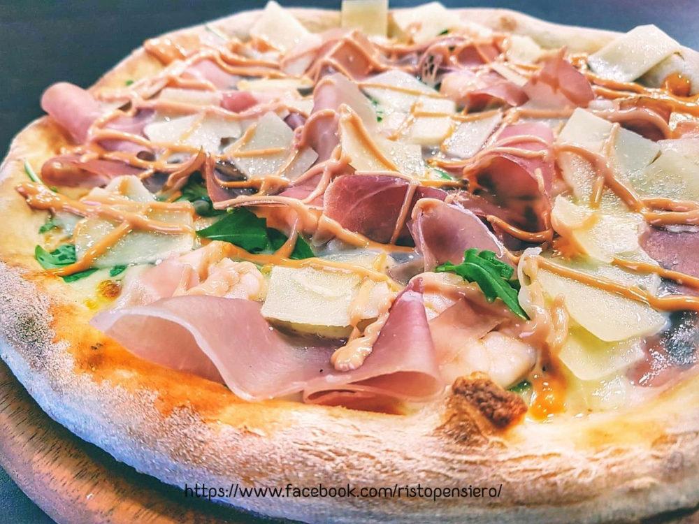 pizza con speck e brie